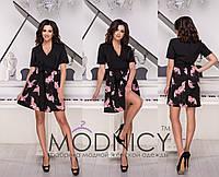 Платье / креп, софт / Украина 36-3978, фото 1