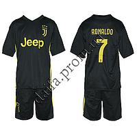 Спортивная форма для футбола 1813 ФК Juventus RONALDO (6-14 лет). Доставка из Одессы.