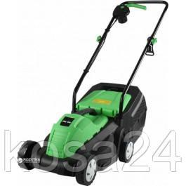 Электрическая газонокосилка FORTE FEM-1400 GREEN