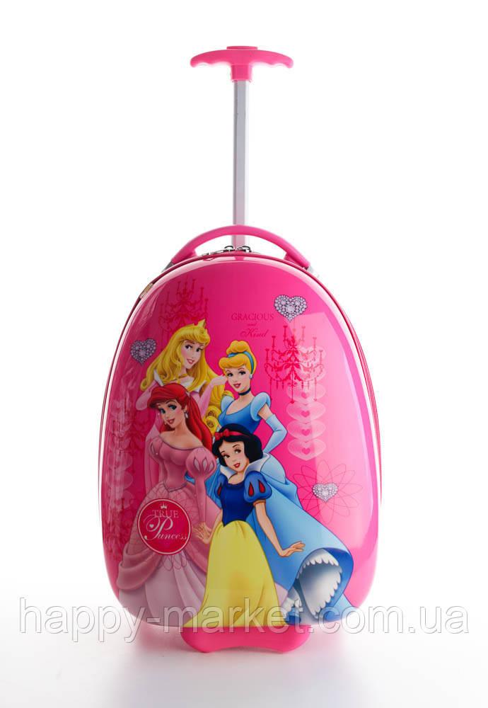 Детские чемоданы ручная кладь стандарт Josepf Ottenn Принцессы 0483-7\0378-1-4\1670