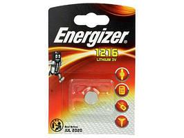 Дискова батарейка Energizer Cell Lithium 3V CR1216
