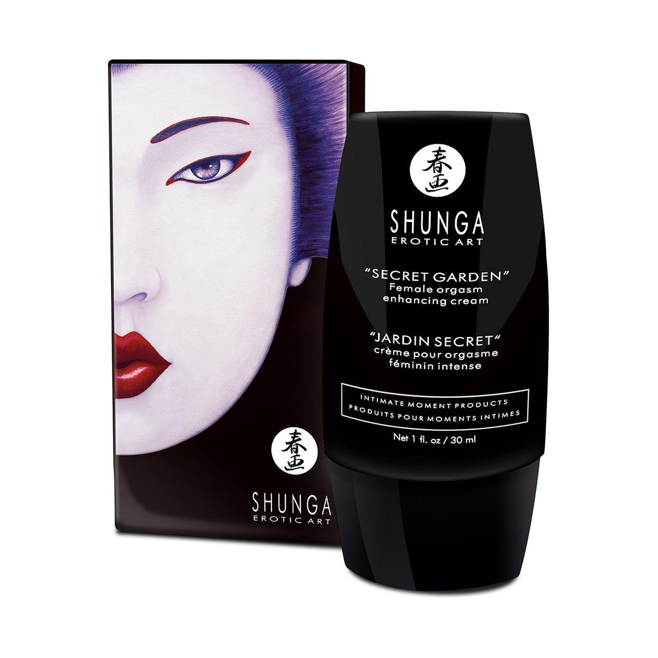 Стимулирующий крем для клитора Shunga Secret Garden (30 мл)