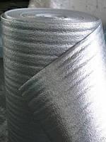 Полотно ППЭ фольга самоклеющае  8,00 мм (бухта 25 кв.м)