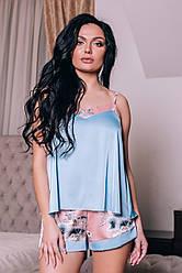 Пижама женская. Shato 1418 blue