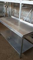 Производственный стол с нержавейки б/у (1600х600 мм.), фото 1