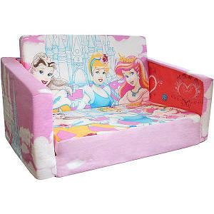 Диванчик игрушка розовый диснеевские принцессы