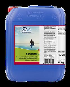 Засіб для чищення Пластикових поверхонь Басейну Compactal Chemoform, 3 л