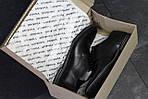 Мужские туфли Vankristi (черные) кожа, фото 5