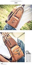 Сумка-рюкзак на одно плечо в стиле Jeep, фото 2