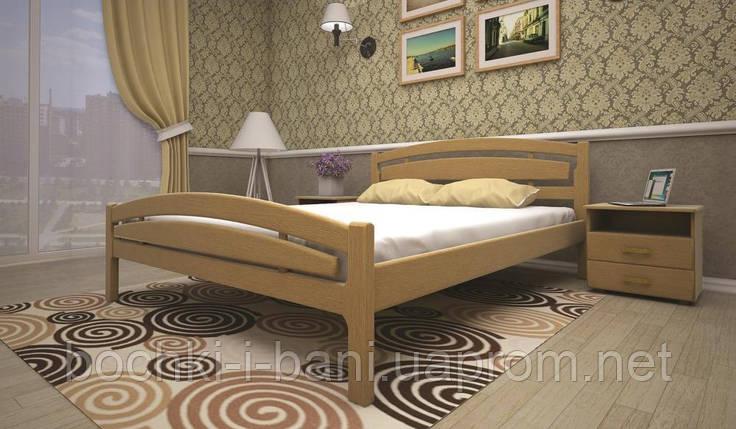 Кровать ТИС МОДЕРН 2 160*190 дуб, фото 2