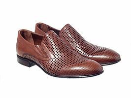 Туфлі Etor 15553-438  рудий