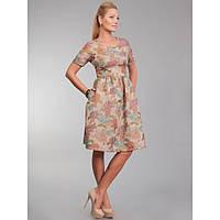 Классическое платье из парчового гобелена