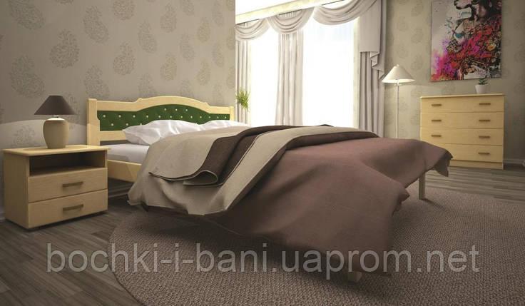 Кровать ТИС ЮЛІЯ 2 90*190 сосна, фото 2