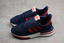 """Кроссовки Adidas ZX 500 RM """"Синие/Красные"""", фото 2"""
