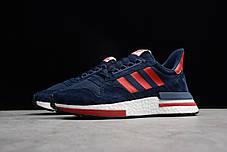 """Кроссовки Adidas ZX 500 RM """"Синие/Красные"""", фото 3"""