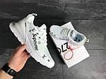 Мужские кроссовки Nike Air Max 270 x Supreme (белые), фото 6