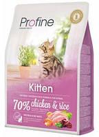 Сухой корм Profine Cat Kitten из натурального куриного мяса и риса для котят