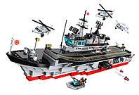 Конструктор Qman 1723 военный корабль 642 дет