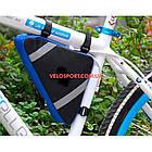 Велосумка под раму Veloritm треугольная, фото 4