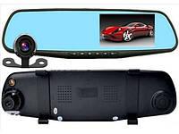 Зеркало видеоРегистратор с камерой заднегоВида для в Авто машину 2Двумя 4.3 Дюйма