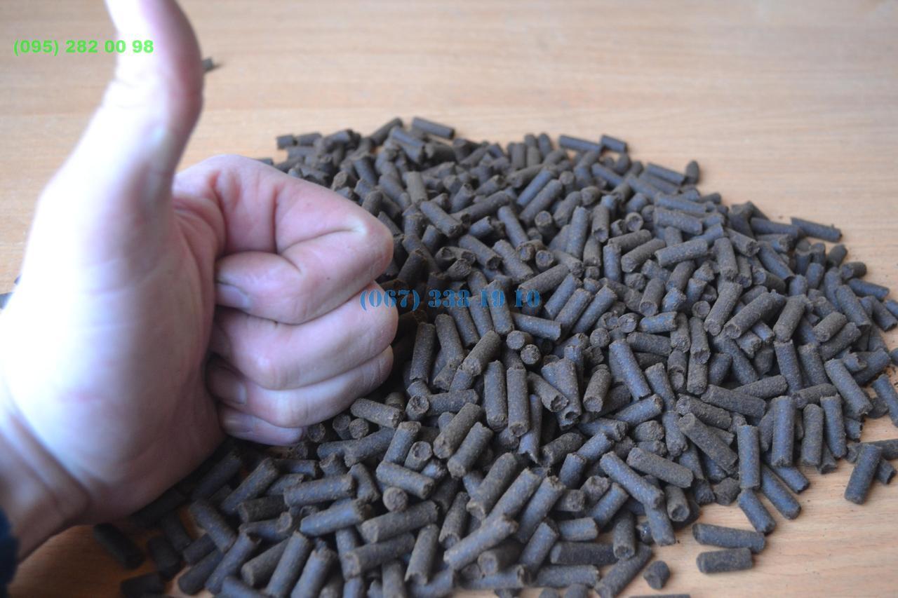 Перегной в гранулах Гранулированный перегной лучшее удобрение