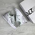 Женские кроссовки Nike Air Max 270 x Supreme (белые) , фото 3