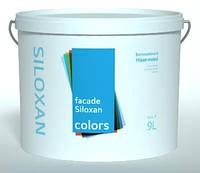 Краска фасадная силоксановая COLORS Fasade Siloxan 9л