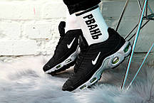 """Кроссовки Nike Air Max Tn """"Черные/Зеленые"""", фото 2"""