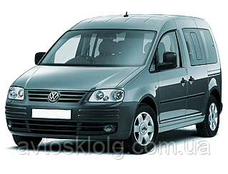 Стекла лобовое, заднее, боковые для VW Caddy (Минивен) (2004-)