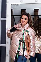 Куртка женская / плащевка, холофайбер / Украина 47-5169, фото 1