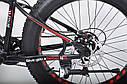 """Велосипед Hammer S-800 Extrime Fatbike 26"""" дюймов (черно - красный), фото 3"""