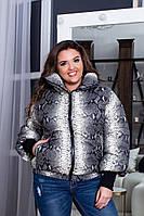Куртка женская / плащевка, холофайбер / Украина 47-5170, фото 1