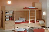 Кровать-чердак для двух детей КЧД 112