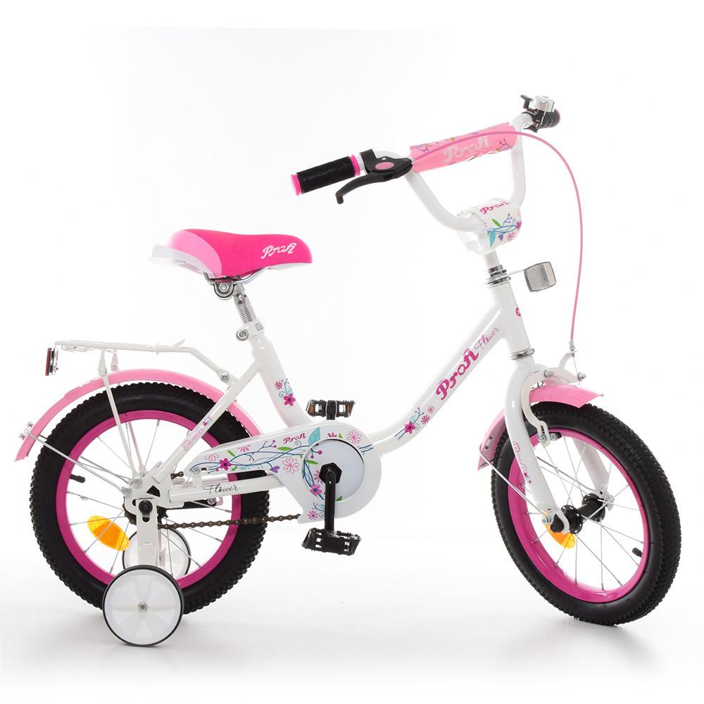 Велосипед двухколесный Profi Flower 14 д Y1485