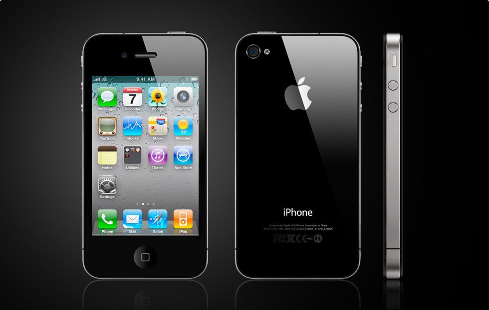 Смартфон Apple iPhone 4S 16gb Оригинал Neverlock Black + стекло