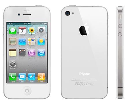 Смартфон Apple iPhone 4S 16gb Оригинал Neverlock White + стекло