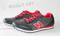 Женские подростковые кроссовки  New Balance 680 сетка