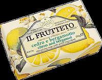 "Мыло ""Лимон и бергамот""  IL FRUTTETO Nesti Dante, 250 гр"