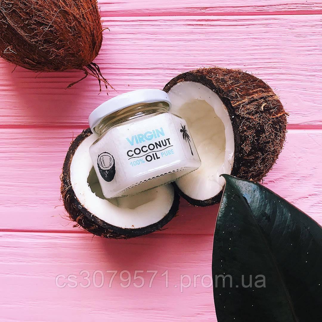 Нерафинированное кокосовое масло 100мл Hillary