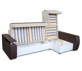 Диван угловой еврокнижка «Мустанг Мини» с подушками от «Гуливера» от МВС, фото 3