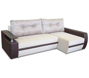 Диван угловой еврокнижка «Мустанг Мини» с подушками от «Гуливера» от МВС, фото 2