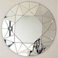 Настенное панно зеркальное диаметр 1000мм (R6-1). Столы обеденные.
