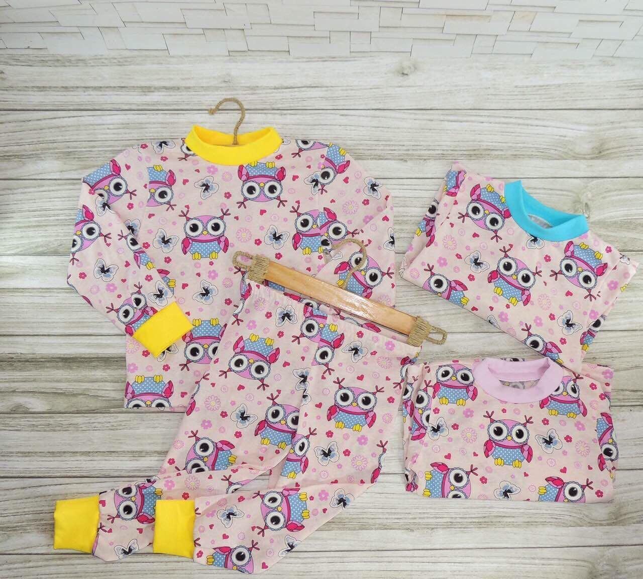 Пижама для девочек Совушка