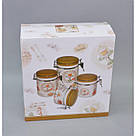 """Набор банок для сыпучих продуктов """"Cupcake"""" YX1315, фото 2"""