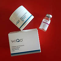 Увлажняющий восстанавливающий крем для сухой и гипер сухой кожи, производитель WIQo, 50 мл