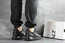 Модные кроссовки Nike air max 270 x Supreme, черные, фото 2