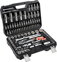 Набор головок ключей инструментов 108 елементів Yato YT-38791 Польша Набір ключів + тріщотки Інструменти ЯТО