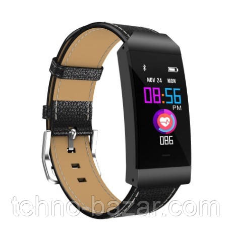 Фитнес браслет S7 Black цветной дисплей,тонометр,давление крови,калории,сон