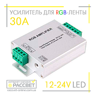 Усилитель LED RGB AMPLIFIER 30A 360W (10А на канал), фото 1