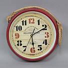 Часы металл настенные  T1405, фото 2